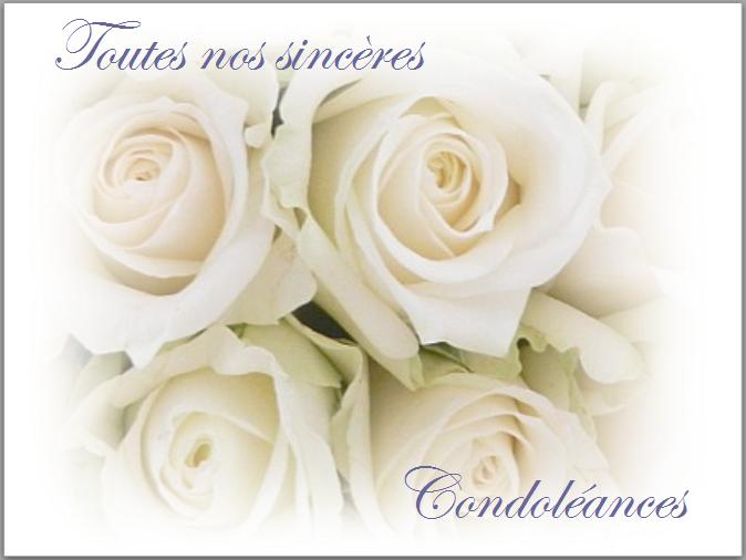 Je Vous Cree La Carte De Condoleances Et Ou Le Texte Que Souhaitez