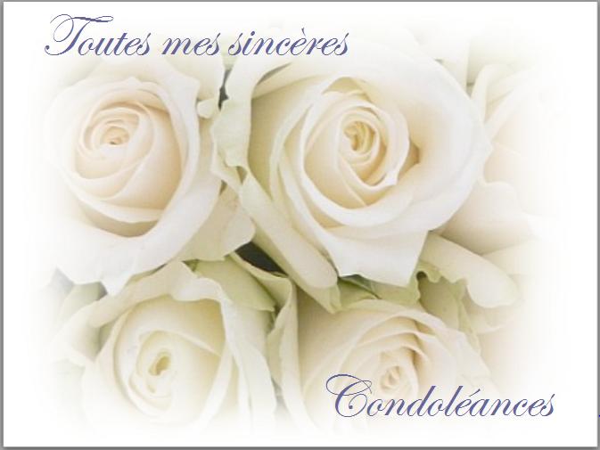 carte condoléances fleurs 27
